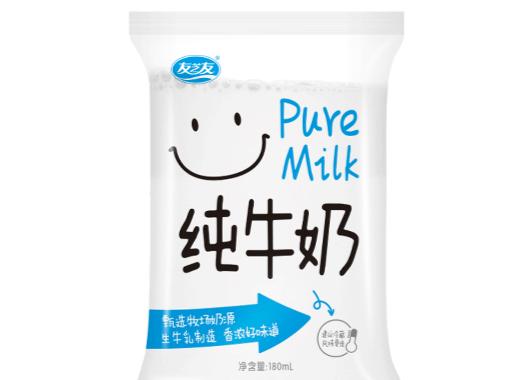 友芝友純牛奶