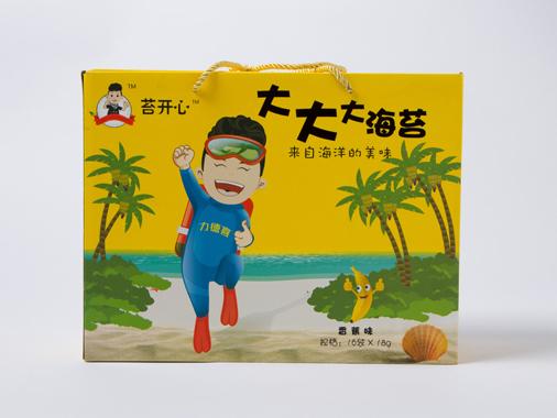苔開心大大大海苔香蕉味(禮盒裝)