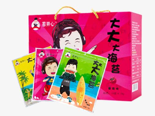 苔開心大大大海苔番茄味(禮盒裝)