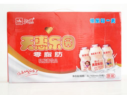 暢多飲乳酸菌100ml*30瓶紙箱裝