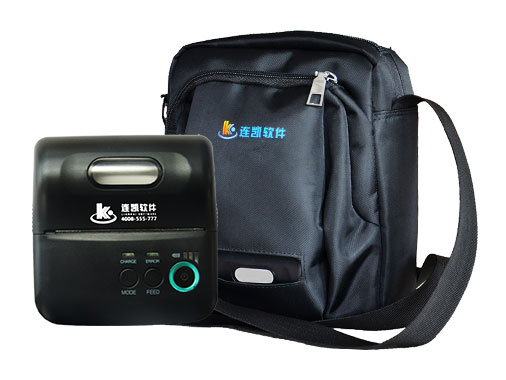 LK-T9便攜式打印機+隱藏式包