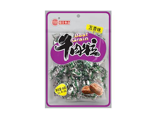 雄發60g牛肉粒(五香)