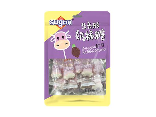 sugan80g牛頭香芋牛奶棒棒糖