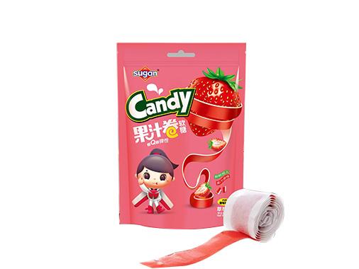 sugan90g草莓味果汁卷