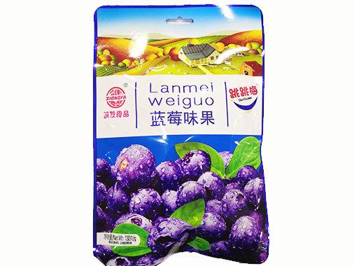 雄發藍莓味果130g