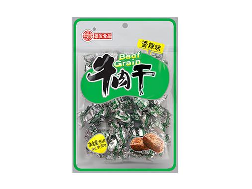 雄發60g牛肉干(香辣)